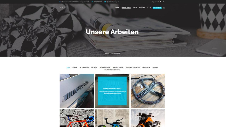Limitless Design Website Projekte